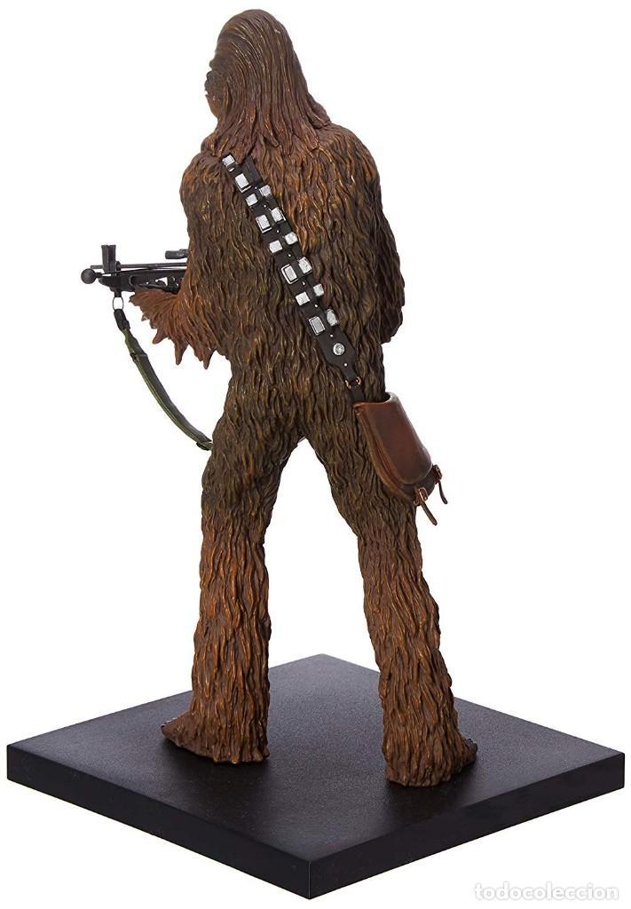 Figuras y Muñecos Star Wars: Kotobukiya Star Wars Artfx Han Solo and Chewbacca 1/10 - Foto 4 - 143833686