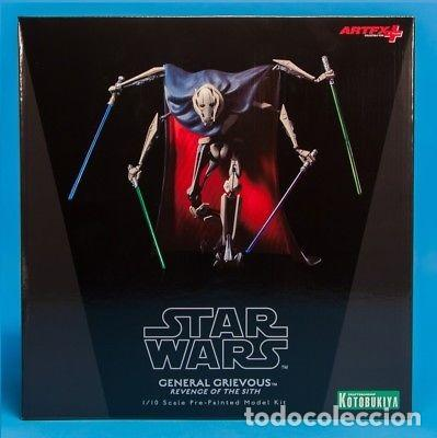 KOTOBUKIYA STAR WARS ARTFX GENERAL GRIEVOUS 1/10 (Juguetes - Figuras de Acción - Star Wars)