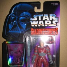 Figuras y Muñecos Star Wars: STAR WARS RARO SHADOWS OF THE EMPIRE BLISTER STAR WARS NUEVO SIN USO COLECCION PARTICULAR. Lote 144015114