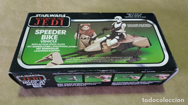 MOTO JET SPEEDER BIKE DE 1983. STAR WARS. REF: 933508 (Juguetes - Figuras de Acción - Star Wars)