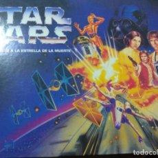 Figuras y Muñecos Star Wars: STAR WARS, JUEGO DE MESA ASALTO A LA ESTRELLA DE LA MUERTE - MAQUETA ESTRELLA + FIGURAS. Lote 144374430