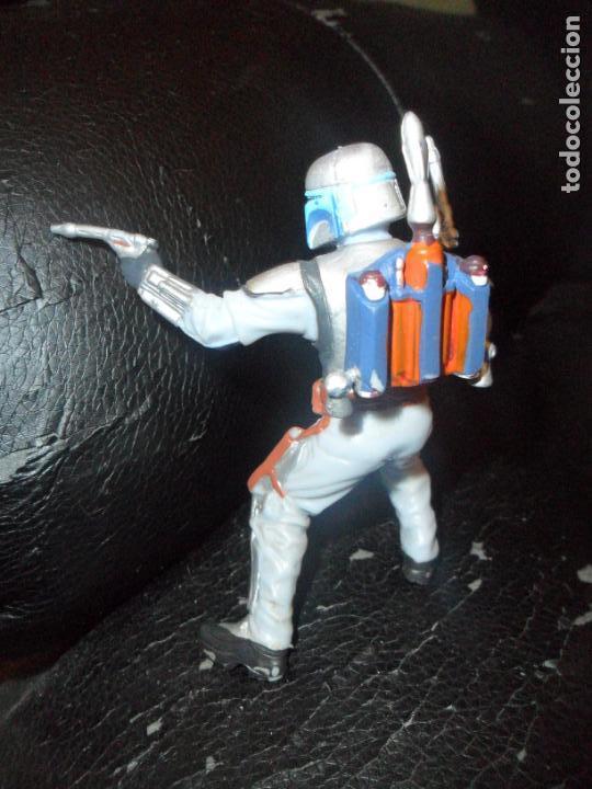 Figuras y Muñecos Star Wars: JANGO FETT - FIGURA DETALLADA PVC STAR WARS - LA GUERRA DE LAS GALAXIAS 2004 LUCASFILM- - Foto 2 - 144426810