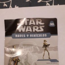 Figuras y Muñecos Star Wars: PAM. FASCICULO Nº 30. NAVES Y VEHHICULOS. PLANETA DE AGOSTINI. . Lote 144457762