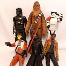 Figuras y Muñecos Star Wars: 6 FIGURAS O MUÑECOS DE 30 CM DE STAR WARS,DE HASBRO. Lote 144506906