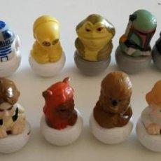 Figuras y Muñecos Star Wars: LOTE DE 17 FIGURAS DE STAR WARS , MINIFIGURAS VARIADAS. Lote 144624150