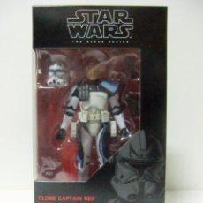 Figuras y Muñecos Star Wars: FIGURA CLONE CAPTAIN REX CAPITÁN CLON REX - STAR WARS HASBRO THE BLACK SERIES Nº 59 - 15 CM. SOLDADO. Lote 212257736