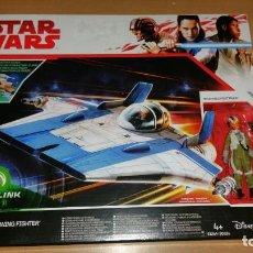 Figuras y Muñecos Star Wars: STAR WARS RESISTANCE A-WING FIGHTER TALLIE PILOT FORCE LINK 2.0. Lote 145307194