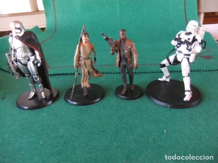 LOTE DE 4 FIGURAS STAR WARS LUCASFILM MARCA DISNEY (Juguetes - Figuras de Acción - Star Wars)