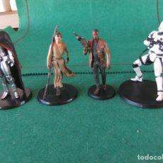 Figuras y Muñecos Star Wars: LOTE DE 4 FIGURAS STAR WARS LUCASFILM MARCA DISNEY. Lote 145332706