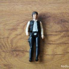 Figuras y Muñecos Star Wars: FIGURA ACCIÓN VINTAGE STAR WARS KENNER HAN SOLO CABEZA GRANDE 1977 GMFGI HONG KONG. Lote 145471394