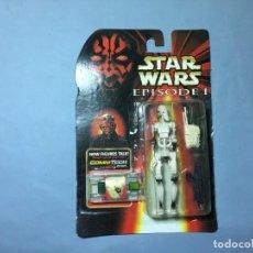 Figuras y Muñecos Star Wars: FIGURA STAR WARS COMMTECH BATLLE DROID - NO HASBRO - BOOTLEG . Lote 145538218