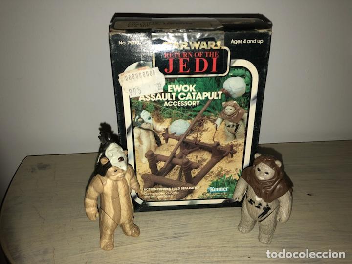 EWOK ASSAULT CATAPULT - CATAPULTA EWOKS - STAR WARS VINTAGE 1980'S - EL RETORNO DEL JEDI (Juguetes - Figuras de Acción - Star Wars)