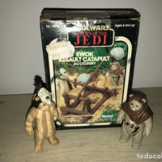 Figuras y Muñecos Star Wars: EWOK ASSAULT CATAPULT - CATAPULTA EWOKS - STAR WARS VINTAGE 1980'S - EL RETORNO DEL JEDI. Lote 145942226
