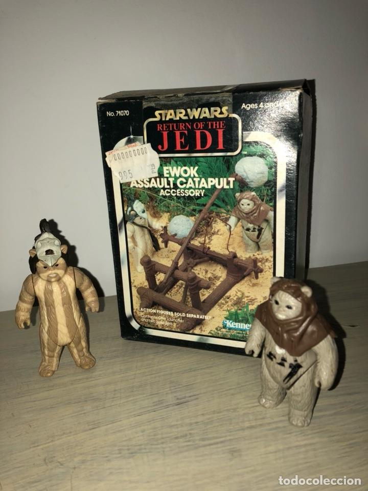 Figuras y Muñecos Star Wars: EWOK ASSAULT CATAPULT - CATAPULTA EWOKS - STAR WARS VINTAGE 1980's - EL RETORNO DEL JEDI - Foto 6 - 145942226
