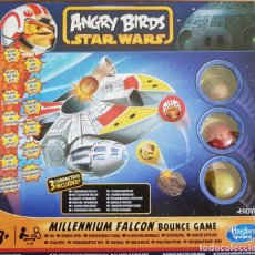 Figuras y Muñecos Star Wars: ANGRY BIRDS STAR WARS / MILLENNIUM FALCON BOUNCE GAME / DE HASBRO GAMING / COMPLETO.. Lote 145959290