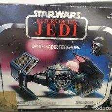 Figuras y Muñecos Star Wars: ANTIGUA NAVE DE STAR WARS - EL RETORNO DEL JEDI - DARTH VADER TIE FIGHTER - KENNER 1983 CINCINNATI -. Lote 146259654