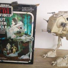 Figuras y Muñecos Star Wars: ANTIGUO SCOUT WALKER VEHICLE - STAR WARS - EL RETORNO DEL JEDI - LUCASFILM 1982 - COMPLETO - EN SU C. Lote 146260530