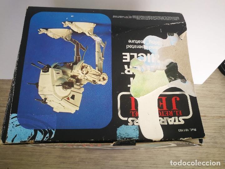 Figuras y Muñecos Star Wars: ANTIGUO SCOUT WALKER VEHICLE - STAR WARS - EL RETORNO DEL JEDI - LUCASFILM 1982 - COMPLETO - EN SU C - Foto 2 - 146260530