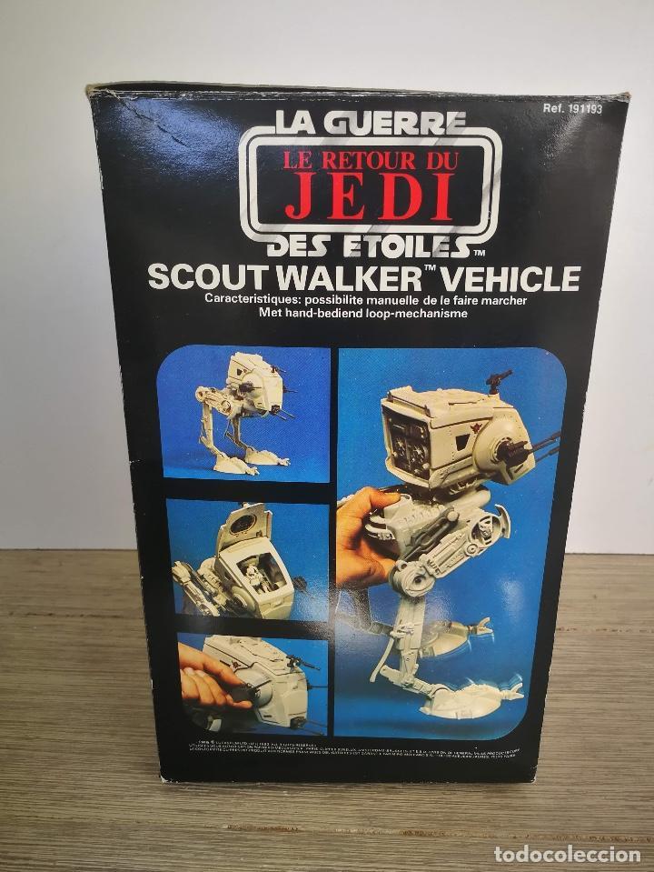 Figuras y Muñecos Star Wars: ANTIGUO SCOUT WALKER VEHICLE - STAR WARS - EL RETORNO DEL JEDI - LUCASFILM 1982 - COMPLETO - EN SU C - Foto 5 - 146260530