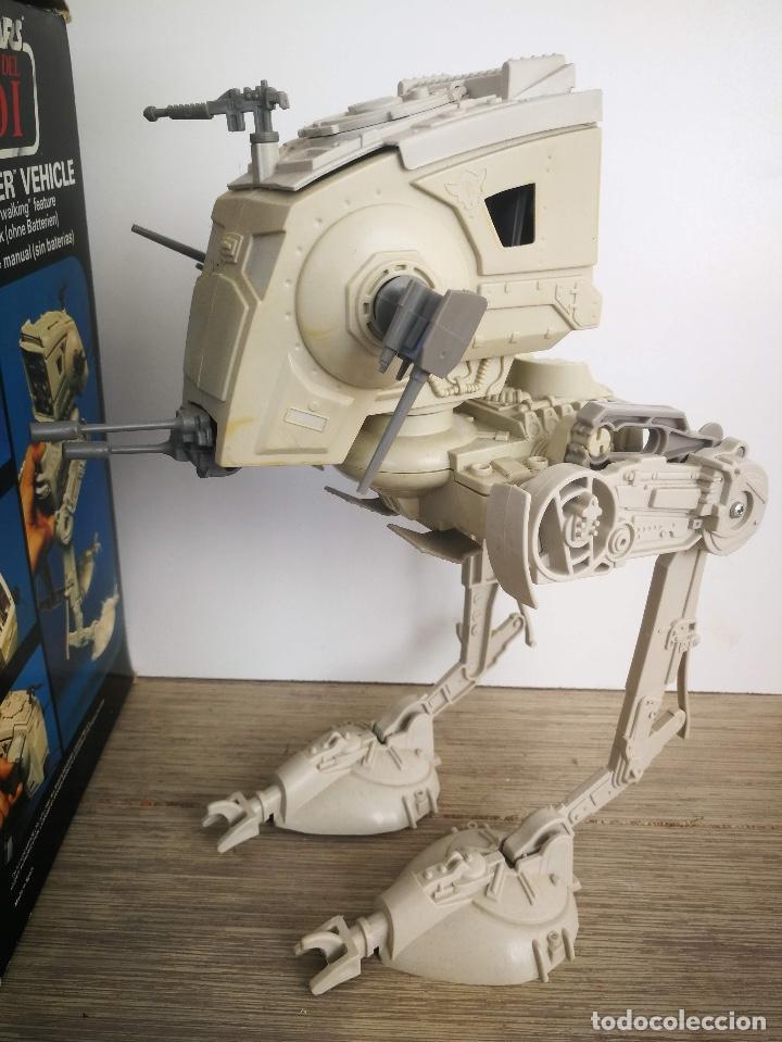 Figuras y Muñecos Star Wars: ANTIGUO SCOUT WALKER VEHICLE - STAR WARS - EL RETORNO DEL JEDI - LUCASFILM 1982 - COMPLETO - EN SU C - Foto 6 - 146260530