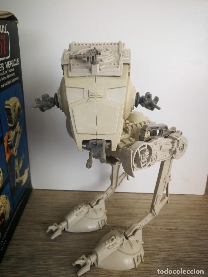 Figuras y Muñecos Star Wars: ANTIGUO SCOUT WALKER VEHICLE - STAR WARS - EL RETORNO DEL JEDI - LUCASFILM 1982 - COMPLETO - EN SU C - Foto 7 - 146260530