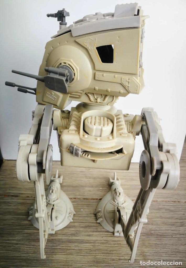 Figuras y Muñecos Star Wars: ANTIGUO SCOUT WALKER VEHICLE - STAR WARS - EL RETORNO DEL JEDI - LUCASFILM 1982 - COMPLETO - EN SU C - Foto 13 - 146260530