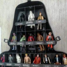 Figuras y Muñecos Star Wars: ANTIGUO MALETIN MALETA DE STAR WARS DE DARTH VADER - CARRY CASE - KENNER 1980 - CON 32 FIGURAS - COM. Lote 146395354