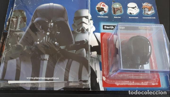 CASCO DARTH VADER COLECCIÓN ALTAYA VINTAGE FIGURAS MUÑECOS KENNER HASBRO (Juguetes - Figuras de Acción - Star Wars)