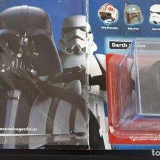 Figuras y Muñecos Star Wars: CASCO DARTH VADER COLECCIÓN ALTAYA VINTAGE FIGURAS MUÑECOS KENNER HASBRO. Lote 146694074