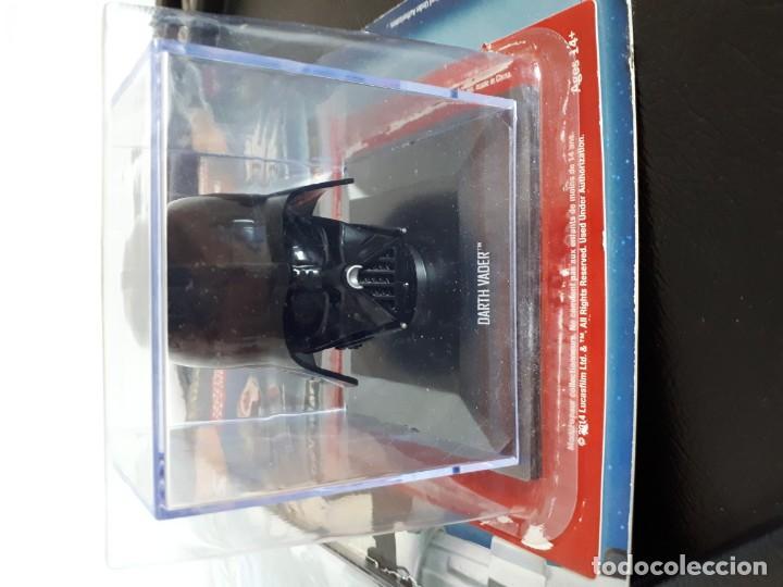 Figuras y Muñecos Star Wars: Casco Darth Vader colección Altaya Vintage figuras muñecos Kenner Hasbro - Foto 3 - 146694074