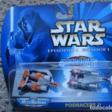 Figuras y Muñecos Star Wars: PODRACERS II MICRO MACHINES - STAR WARS EPISODIO I - HASBRO. Lote 146791322
