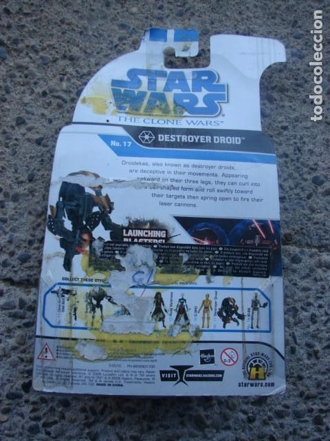 Figuras y Muñecos Star Wars: DESTROYER DROID - CLONE WARS - STAR WARS - HASBRO - Foto 2 - 146802530