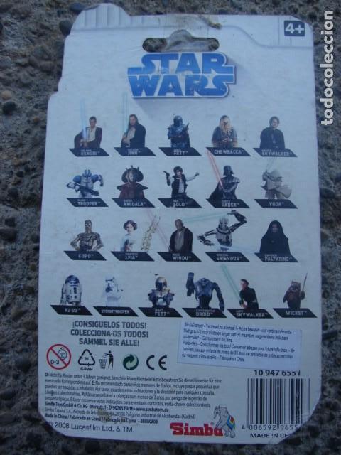 Figuras y Muñecos Star Wars: SUPER BATTLE DROID LLAVERO - CLONE WARS - STAR WARS - SIMBA - Foto 2 - 146802834