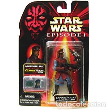 STAR WARS EPISODE I - CAPTAIN PANAKA - HASBRO (Juguetes - Figuras de Acción - Star Wars)