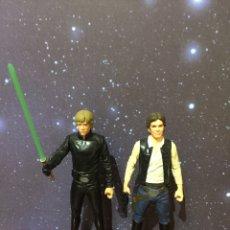 Figuren von Star Wars - Star Wars figuras Hasbro 15 cms Luke Skywalker ROTJ y Han Solo Guerra Galaxias Jedi - 146952830