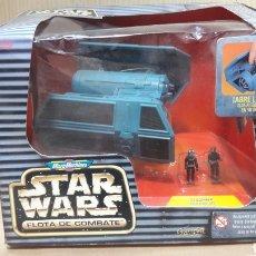 Figuras y Muñecos Star Wars: TIE BOMBER CON PILOTO Y SOLDADO IMPERIAL MICROMACHINES FLOTA COMBATE STAR WARS. Lote 147067400