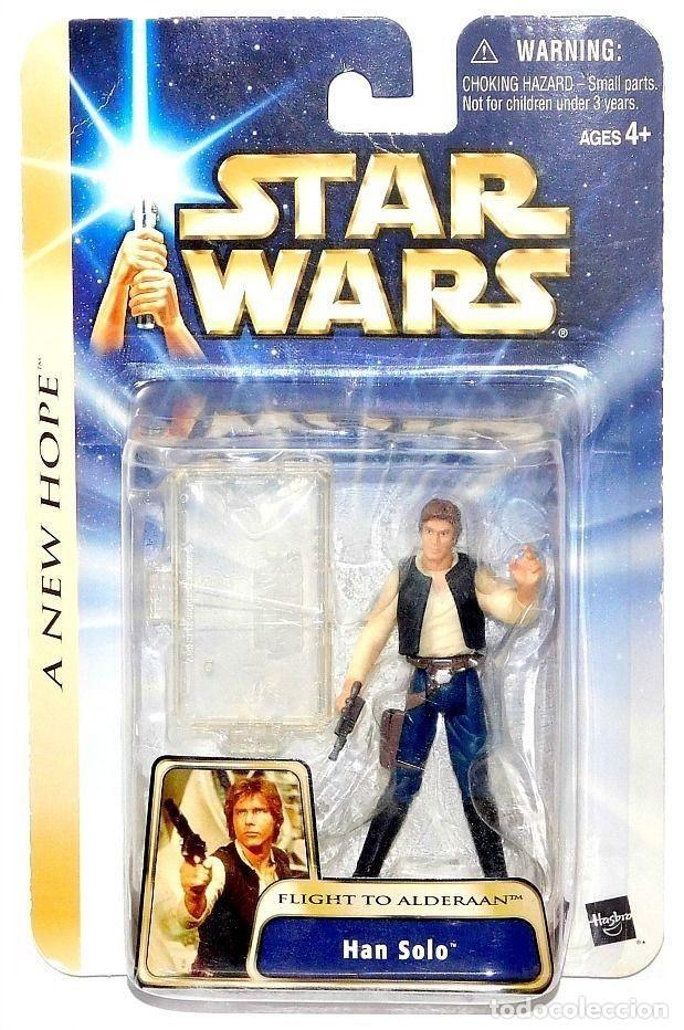 STAR WARS A NEW HOPE - HAN SOLO - HASBRO (Juguetes - Figuras de Acción - Star Wars)