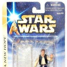 Figuras y Muñecos Star Wars: STAR WARS A NEW HOPE - HAN SOLO - HASBRO. Lote 147171178