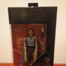 Figuras y Muñecos Star Wars: STAR WARS BLACK SERIES EN SU CAJA NUNCA ABIERTO, LANDO CALRISSIAN NÚMERO 39 PERFECTO!!!!!. Lote 147249730
