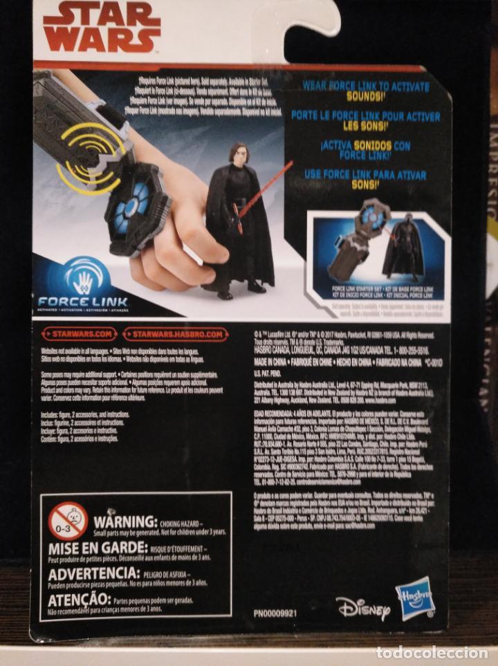 Figuras y Muñecos Star Wars: Star Wars Hasbro en su caja Force Link nunca abierto, Juli Ren Perfecto!!!!! - Foto 2 - 147251350