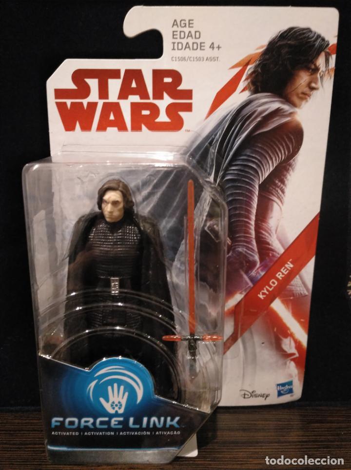 Figuras y Muñecos Star Wars: Star Wars Hasbro en su caja Force Link nunca abierto, Juli Ren Perfecto!!!!! - Foto 3 - 147251350