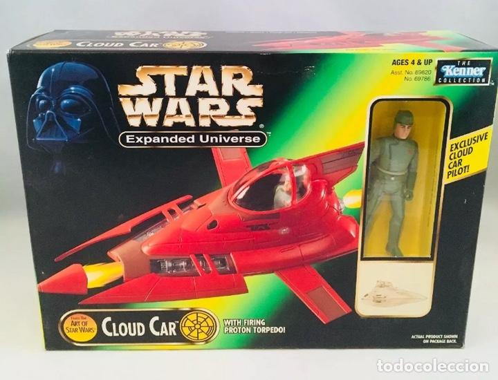STAR WARS - CLOUD CAR - POWER OF THE FORCE - KENNER (Juguetes - Figuras de Acción - Star Wars)