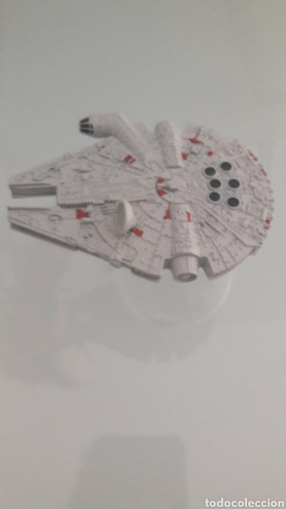Figuras y Muñecos Star Wars: Hot Wheels STAR WARS Nave Halcón milenario. ANTENA REDONDA - Foto 2 - 218538301