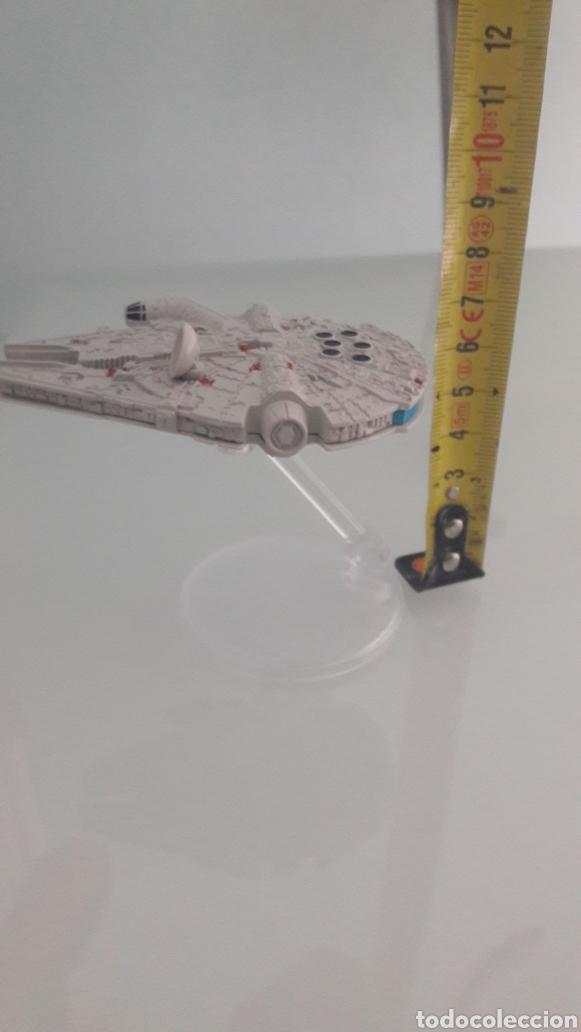 Figuras y Muñecos Star Wars: Hot Wheels STAR WARS Nave Halcón milenario. ANTENA REDONDA - Foto 3 - 218538301