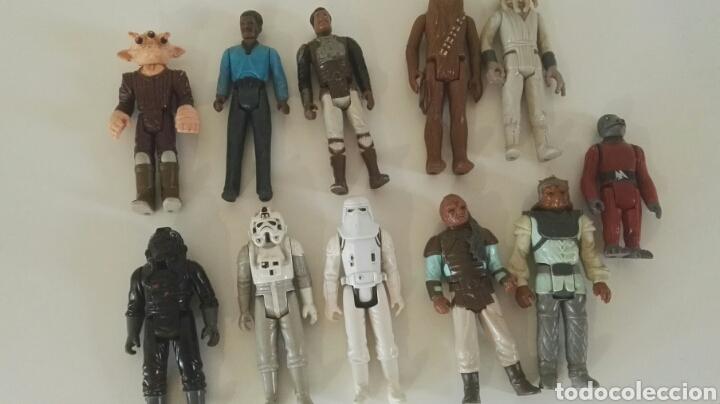 LOTE FIGURAS STAR WARS VINTAGE KENNER (Juguetes - Figuras de Acción - Star Wars)