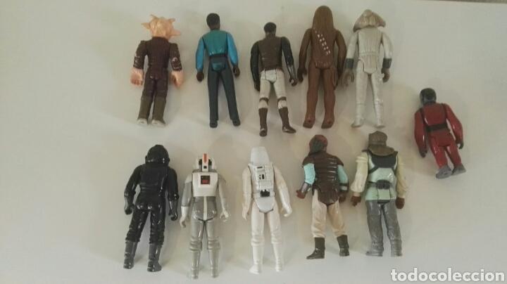 Figuras y Muñecos Star Wars: Lote figuras Star Wars vintage Kenner - Foto 2 - 147437966