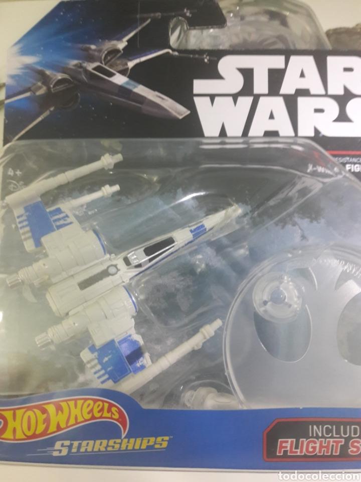 HOT WHEELS NAVE ESPACIAL X-WING FIGHTER (Juguetes - Figuras de Acción - Star Wars)