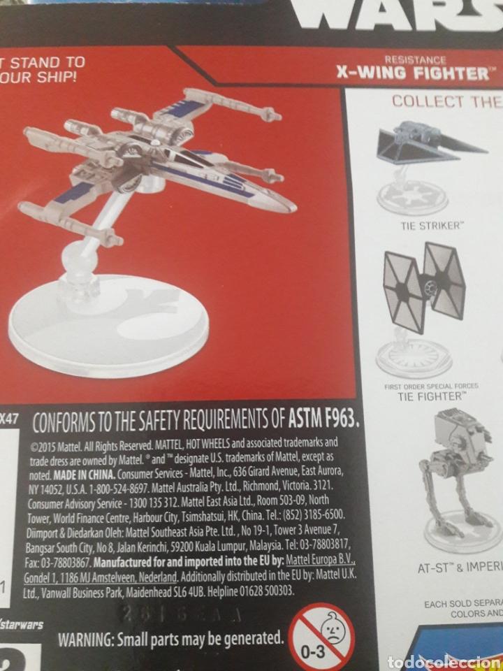 Figuras y Muñecos Star Wars: Hot Wheels Nave espacial X-wing Fighter - Foto 3 - 218538260