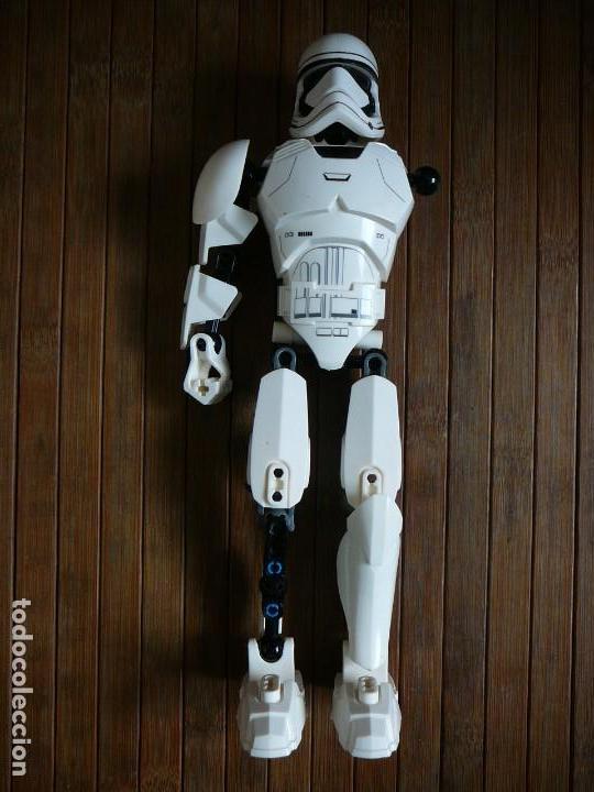 Figuras y Muñecos Star Wars: First order Stormtrooper Lego Star Wars 75114. Soldado Tropas de Asalto. Incompleto. - Foto 2 - 147761666