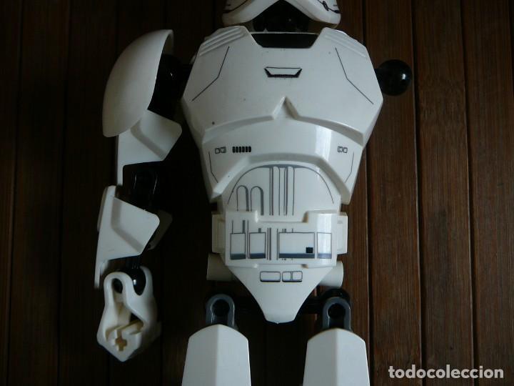 Figuras y Muñecos Star Wars: First order Stormtrooper Lego Star Wars 75114. Soldado Tropas de Asalto. Incompleto. - Foto 5 - 147761666